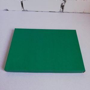 Крышка дно коробка зеленого цвета